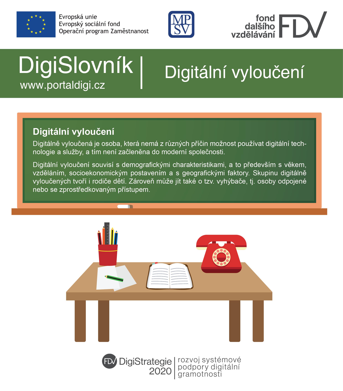 DigiSlovník - digitální vyloučení
